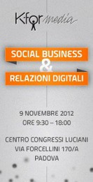 padova,padova blog,blog di padova,k-for-media,social media marketing,social business & digital relations